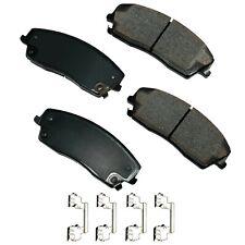 Disc Brake Pad Set-ProACT Ultra Premium Ceramic Pads Front Akebono ACT1056