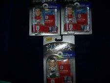 3 ROONEY CORINTHIAN PROSTARS QUIZ CARD FIGURES INCLUDES 2 RARE ENGLAND AWAY