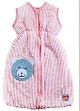 Heless Puppenkleidung Puppen Schlafsack 50 cm rosa für 35 - 45 cm Puppen