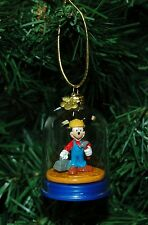 Mickey Mouse, Construction Worker, Carpenter Christmas Ornament