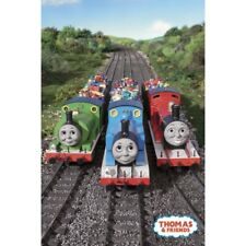 "THOMAS THE TANK ENGINE POSTER - TV SERIES - 3 ENGINES - 91 x 61 cm 36"" x 24"""