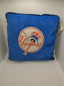 New York Yankees MLB Baseball 2002 Good Stuff Brand Pillow Plush