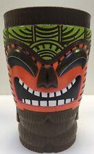Bob Chinn's World Famous Mai Tai Tiki Cup Mug Bar Brown Plastic Souvenir