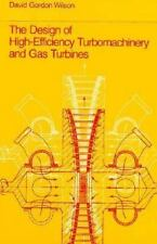 The Design of High-Efficiency Turbomachinery and Gas Turbines-ExLibrary