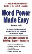 Word Power Made Easy The Complete Handbook for Building a Super... 9781101873854