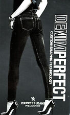 NWT EXPRESS JEANS LEGGING High Rise Precision Fit Custom Shaping Technology $118