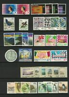 MNZ65) New Zealand 1988 Stamp Sets CTO/Used