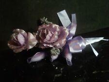 SEGNAPOSTO/SACCHETTO Rose + 3 Confetti BOMBONIERA MATRIMONIO COMUNIONE CRESIMA
