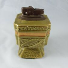 Vintage Green Table Lighter.  Great Show Piece!