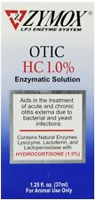Zymox Otic with Hydrocortisone 1% Ear Drops for Dogs and Cats 1.25 oz
