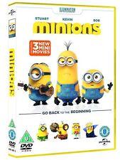 Minions DVD R2 UK Steve Coogan Michael Keaton Sandra Bullock