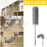 Adjustable Home Duster Car Telescopic Microfiber Dust Brush Cleaning Ceiling Fan
