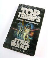 NIP Star Wars Episode IV-VI Top Trumps Trading Card Game