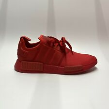 Adidas NMD R1 Triple Scarlet Red FV9017 Running Shoes Men's Sz 10