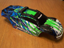 Traxxas 1/10 E-Revo VXL 2.0 Green Body with Support & Clipless Mount 86086-4