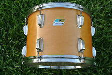 "RARE 1980's LUDWIG CLASSIC 14"" TOM in NATURAL MAPLE WOOD for YOUR DRUM SET! F149"