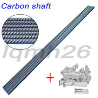 30'' carbon arrows shaft bolts ID 6.2mm for compound/recurve bow archery shoot