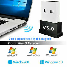 USB 5.0 Bluetooth Adapter Wireless Dongle High Speed for PC Windows Computer TV