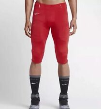 Nike Mens XLarge Open Field Football Pants Red White New Style 615745 Color#658