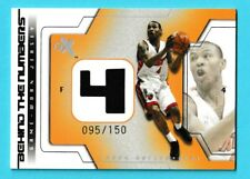 2003-04 Fleer EX Behind The Number Jersey Relic Caron Butler Heat 95/150 (ZCR)