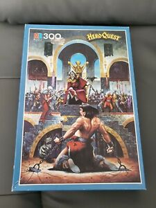 Hero Quest - The Witch Lord - 300 Jigsaw Puzzle - 1989 - MB