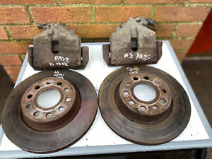2010 Audi A3 2.0TDI CBA 140BHP Front Calipers And Discs