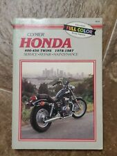 CLYMER M334 HONDA 450 & 500cc TWINS 1978-1987 SERVICE/REPAIR/MAINTANANCE Rebel