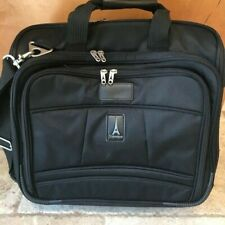 """Travelpro Crew 6 Rolling Carry-on Bag Overnight Suitcase Luggage Black 16"""" Wide"""