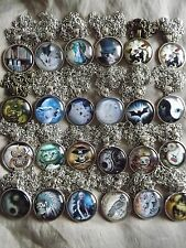 Assorted Gothic, Steampunk Costume Jewellery. Tibetan Silver Domed Glass.