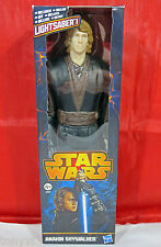 STAR WARS 12' Inch Anakin Skywalker Action Figure & Lightsaber Hasbro A0866 NMIB