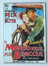 CP DU FILM - LE MONDE DANS MES BRAS - IL MONDO NELLE MIE BRACCIA - NUGERON E28 *
