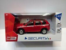 RENAULT DACIA POMPIERI VIGILI  FUOCO  scala 1:43 Mondo Motors MODELLINO SECURITY