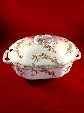 Antique Wood and Sons Royal Patent Ironstone Tureen