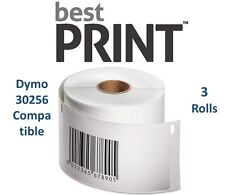 "3 Rolls of 300 Labels 2 5/16"" x 4""  For DYMO® LabelWriter® 30256 Compatible"