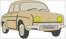 MOTIF BRODERIE DAUPHINE      livraison gratuite