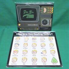 """Fallout 76 Pip-Boy 2000 Journal Notebook & """"Today I Feel"""" Reusable Sticker Sheet"""