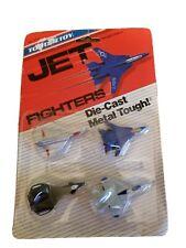 VINTAGE Tootsie Toy 1988 - Jet Fighters Die-Cast. New in Original Packaging!