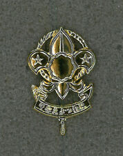 SCOUTS OF NIPPON (JAPAN) - ROVER SCOUT (RS) Metal Plume / Hat Patch