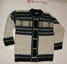 Island Norweger HERREN Pullover von BIRASI  Gr S wolle STRICK JACKE STRICKJACKE