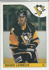 1985-86 OPC O-Pee-Chee # 9 Mario Lemieux RC Rookie Reprint Pittsburgh Penguins