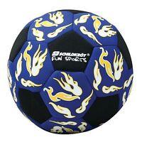 Neoprene Beach Soccer Ball Beachsoccer Fussball Gr.5 blau Football Soccerball