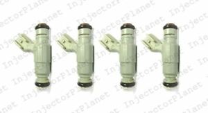 Set of 4 Bosch 0280155976 Injector 01-03 Dodge Caravan 2.4L 04891345AA
