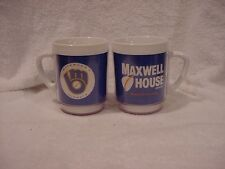 VERY RARE 1970's Milwaukee Brewers SGA Thermal Coffee Mug, NMMT!!