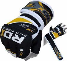 RDX Handschoenen Voor Boksen MMA Muay Thai Geel / Zwart NL M
