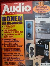 AUDIO 11/98,OCTAVE HP 500 MK3 ,M 100,MISSION X SPACE,SONY STR DB25,KRELL KAV 500