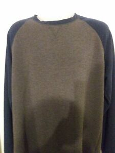Orvis Classic Collection Large Navy Blue / Gray Long Sleeve Pullover - Outdoors