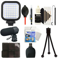 Compact Light & Accessory Kit for CANON EOS Rebel T6i T6 T6s T5i T5 T4i T3i