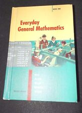 Everyday General Mathematics 1960 Hard Copy Revised Edition Unused School Copy