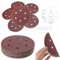"""25x 150mm 6"""" Sanding Sheets Discs 40 60 80 120 180 240 Mixed Grit Orbital Sander"""