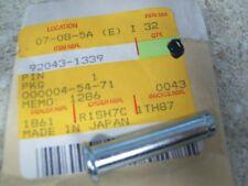 NOS OEM Kawasaki Pin 1986-2000 VN800-B3L EX250-E1 EN500-A2L KL650-B2 92043-1339